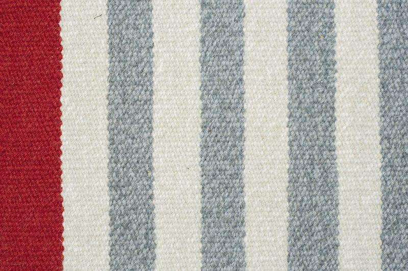 Fabula Living - Rosemary Grå Kelim - 140x200 - Håndvævet Kelim 140x200 cm