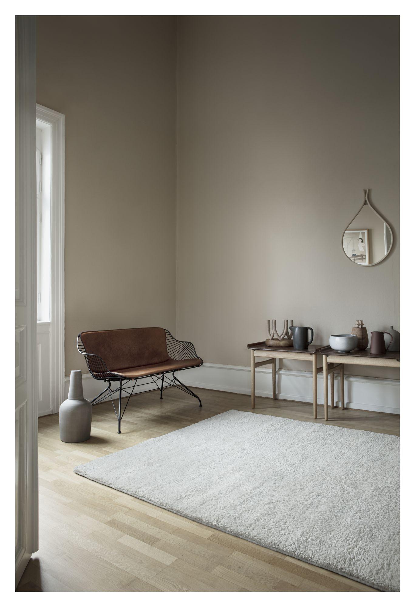 Fabula Living - Thor Hvid Luvtæppe - 200x300 - Luvtæppe 200x300 cm