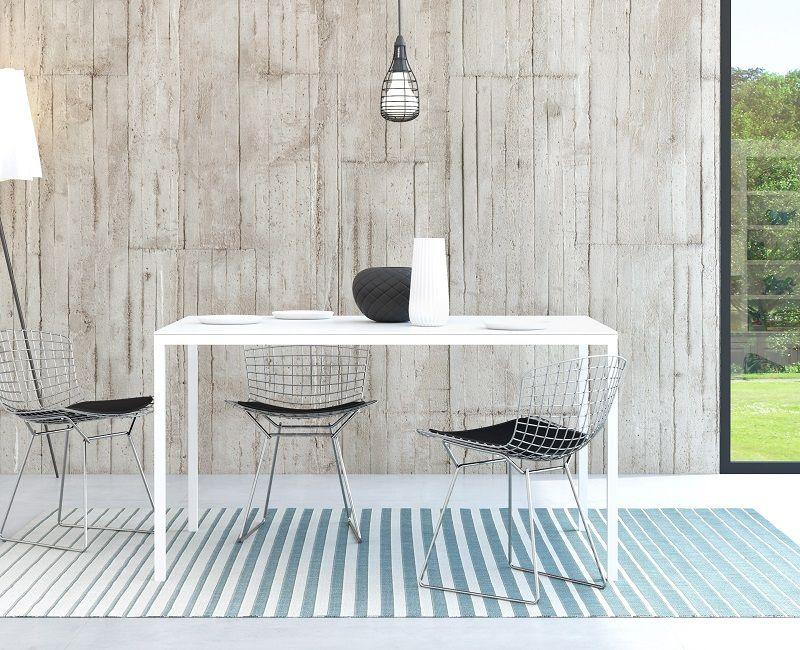 Family Spisebord 140x90 - Hvid
