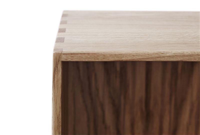 FDB Møbler - Bogkasse 36x54x20 - Eg
