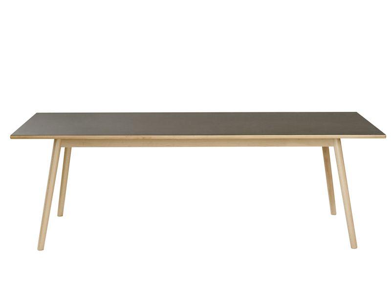 FDB Møbler - C35C Spisebord 220x95 - Bøg/Sort