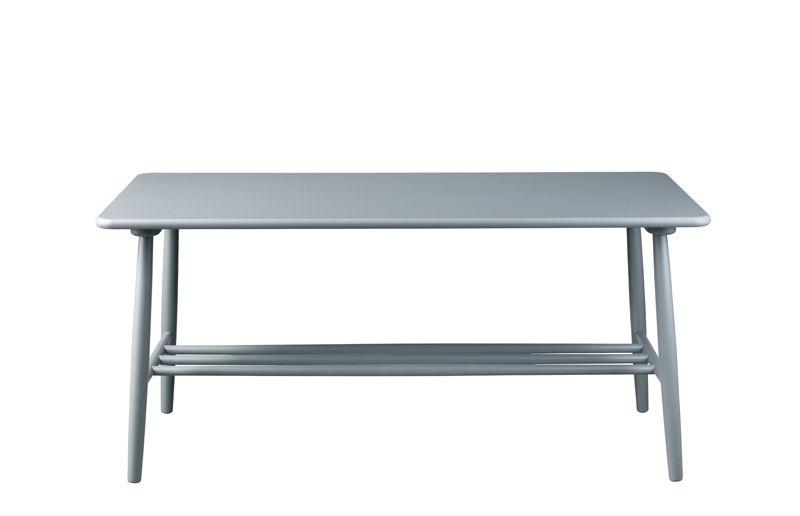 FDB Møbler - D20 Sofabord 120x55 - Mørkegrå