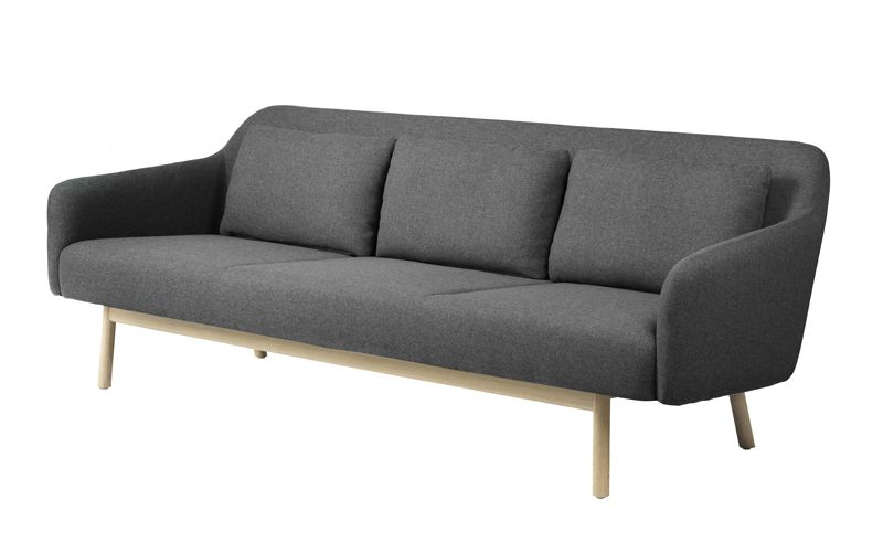 FDB Møbler - Gesja 3-pers. Sofa - Grå