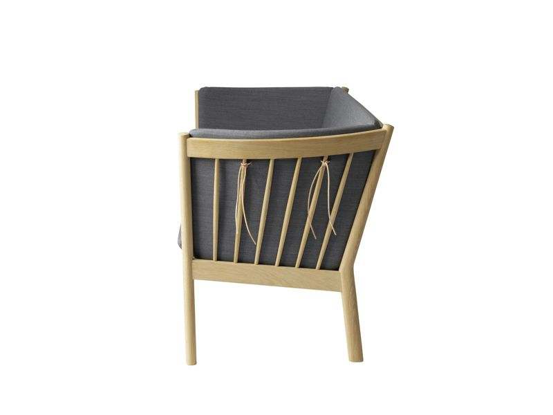 FDB Møbler - J149 3-pers. Sofa - Antracit