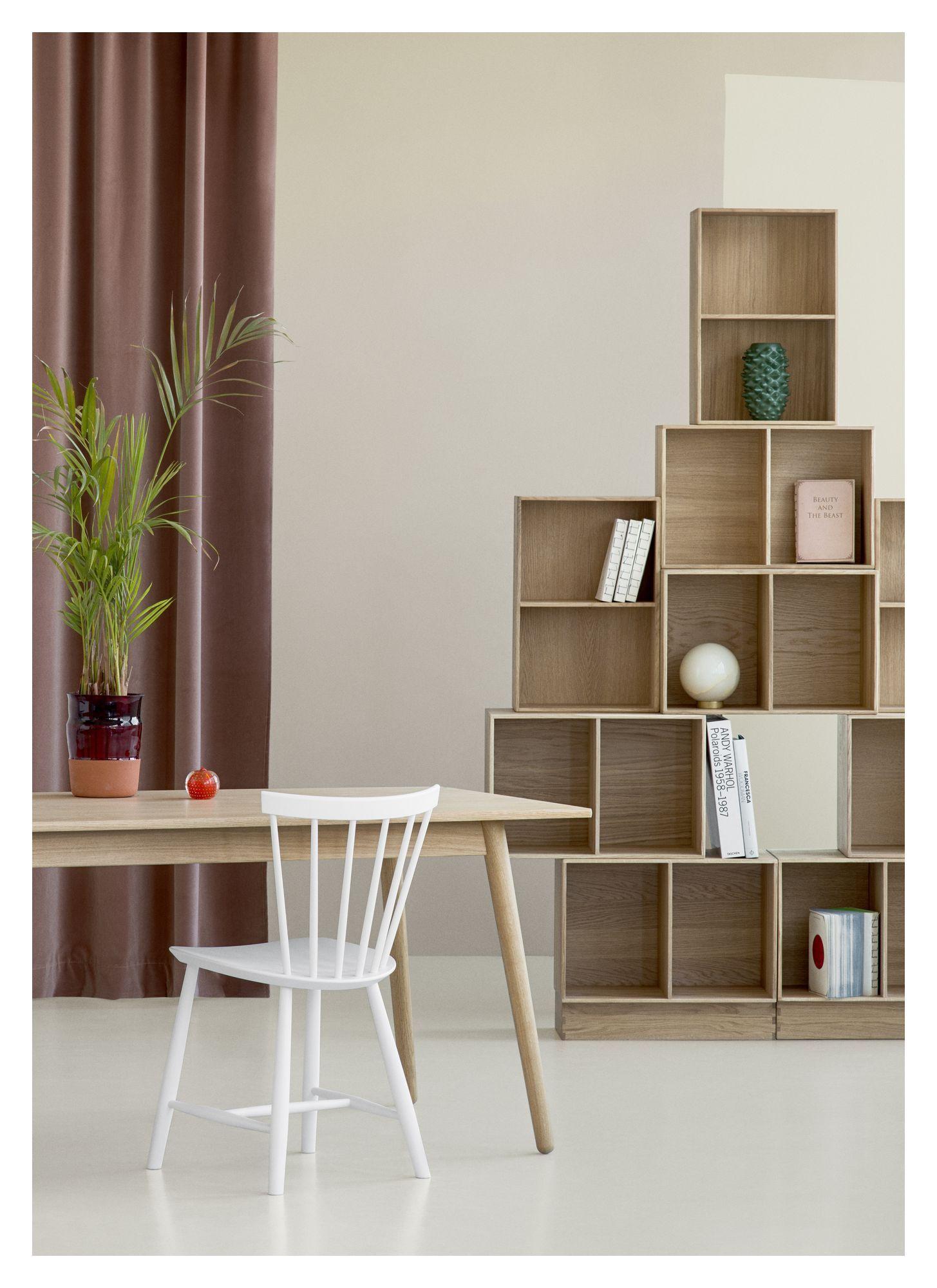 FDB Møbler - J46 Spisebordsstol - Hvid