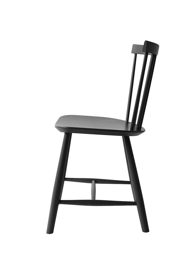 FDB Møbler - J46 Spisebordsstol - Sort