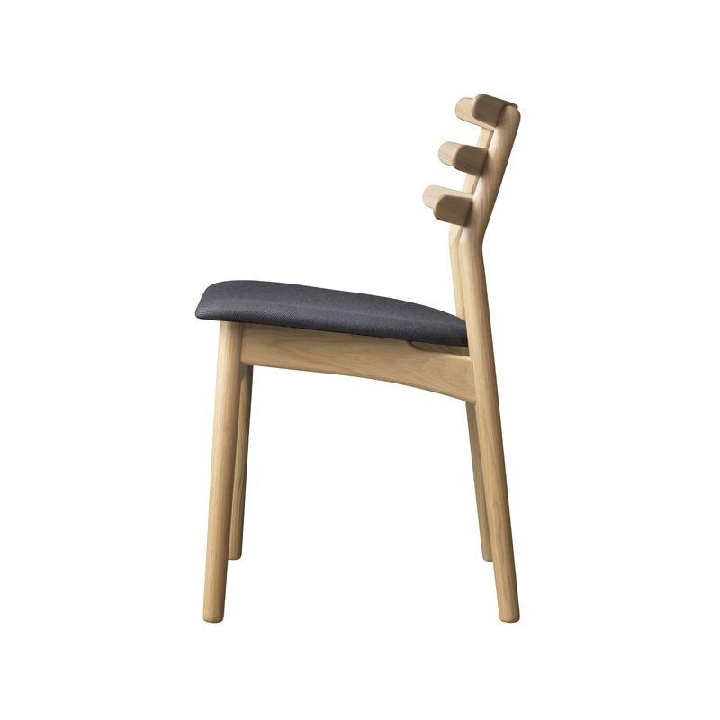 FDB Møbler - J48 Spisebordsstol - Eg/antracit