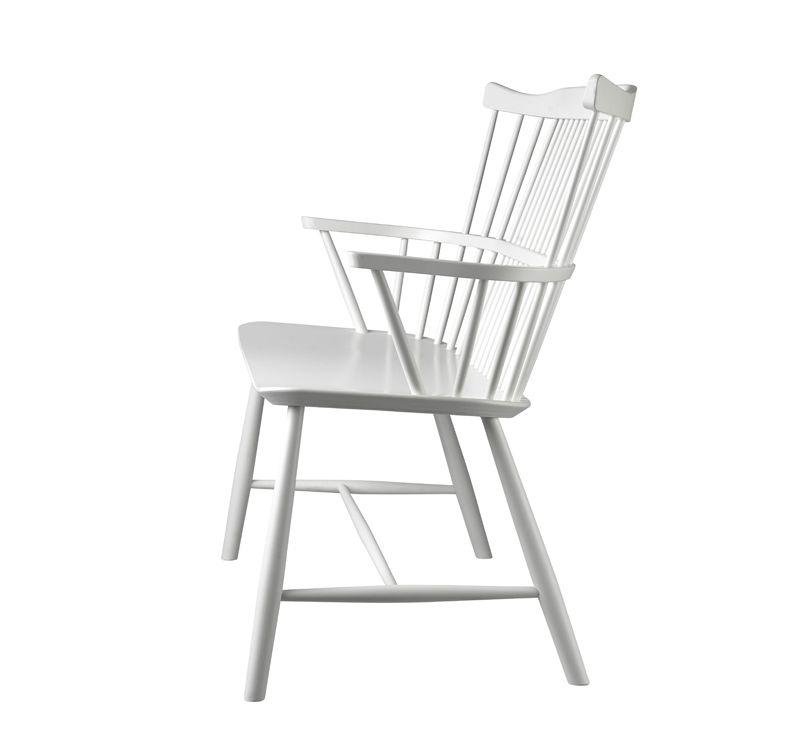 FDB Møbler - J52D Bænk - Hvid