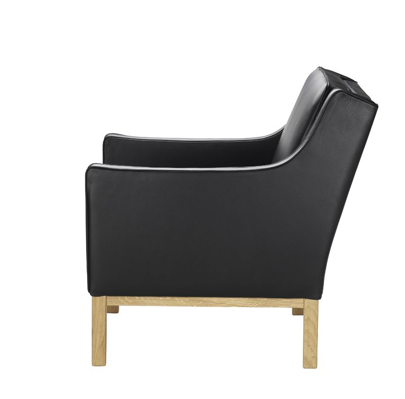 FDB Møbler - L603 Lænestol - Sort