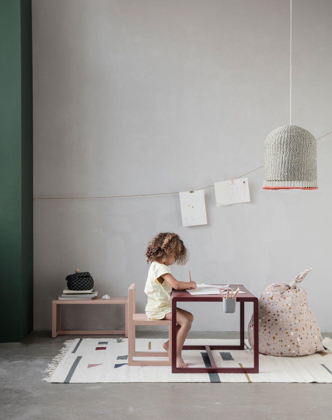 Ferm Living - Little Architect Børnebord - Bordeaux