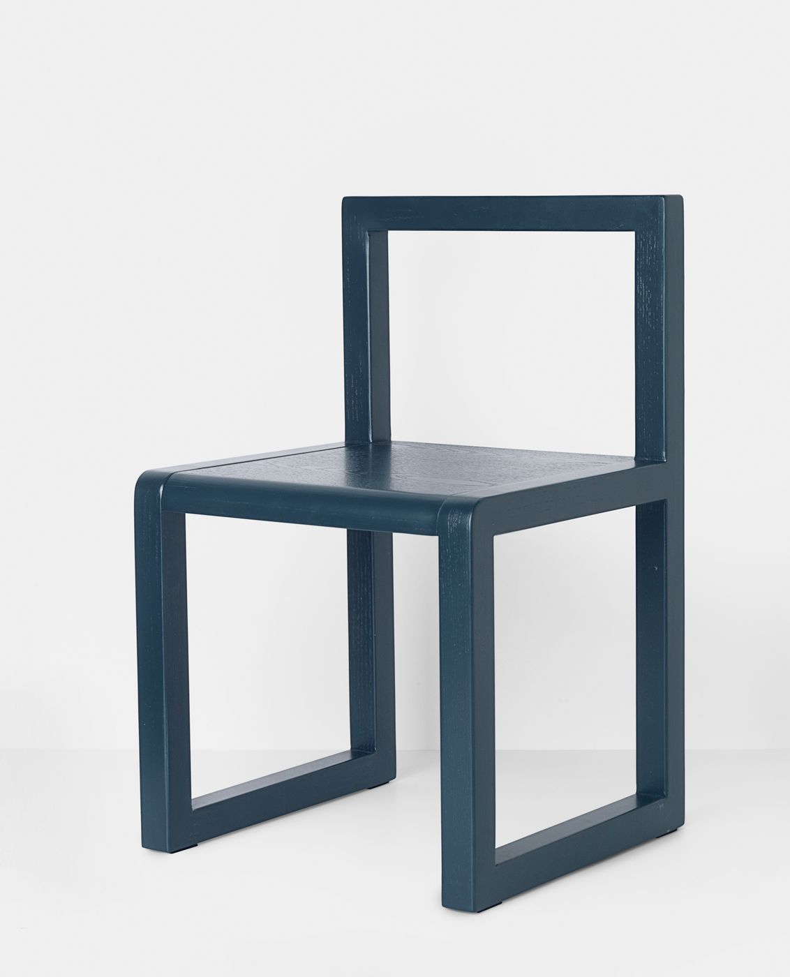 Ferm Living - Little Architect Børnestol - Mørkeblå