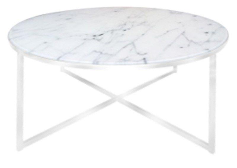 hvid rund sofabord