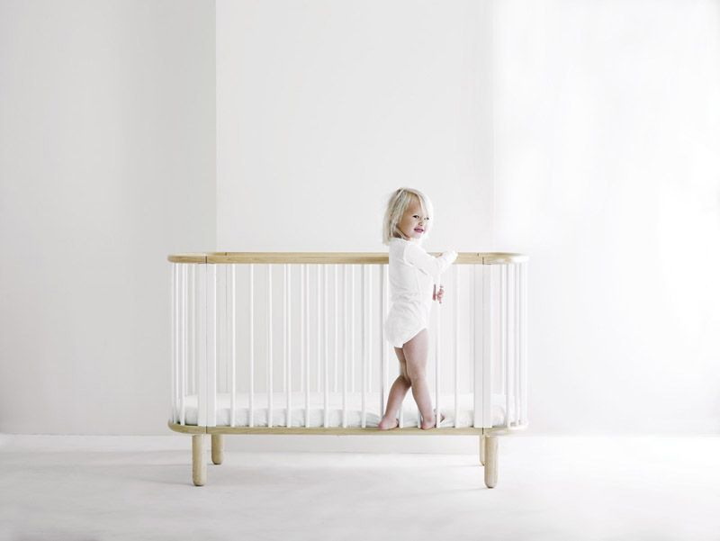 Flexa Baby - madras - Ovalformet madras i koldskum