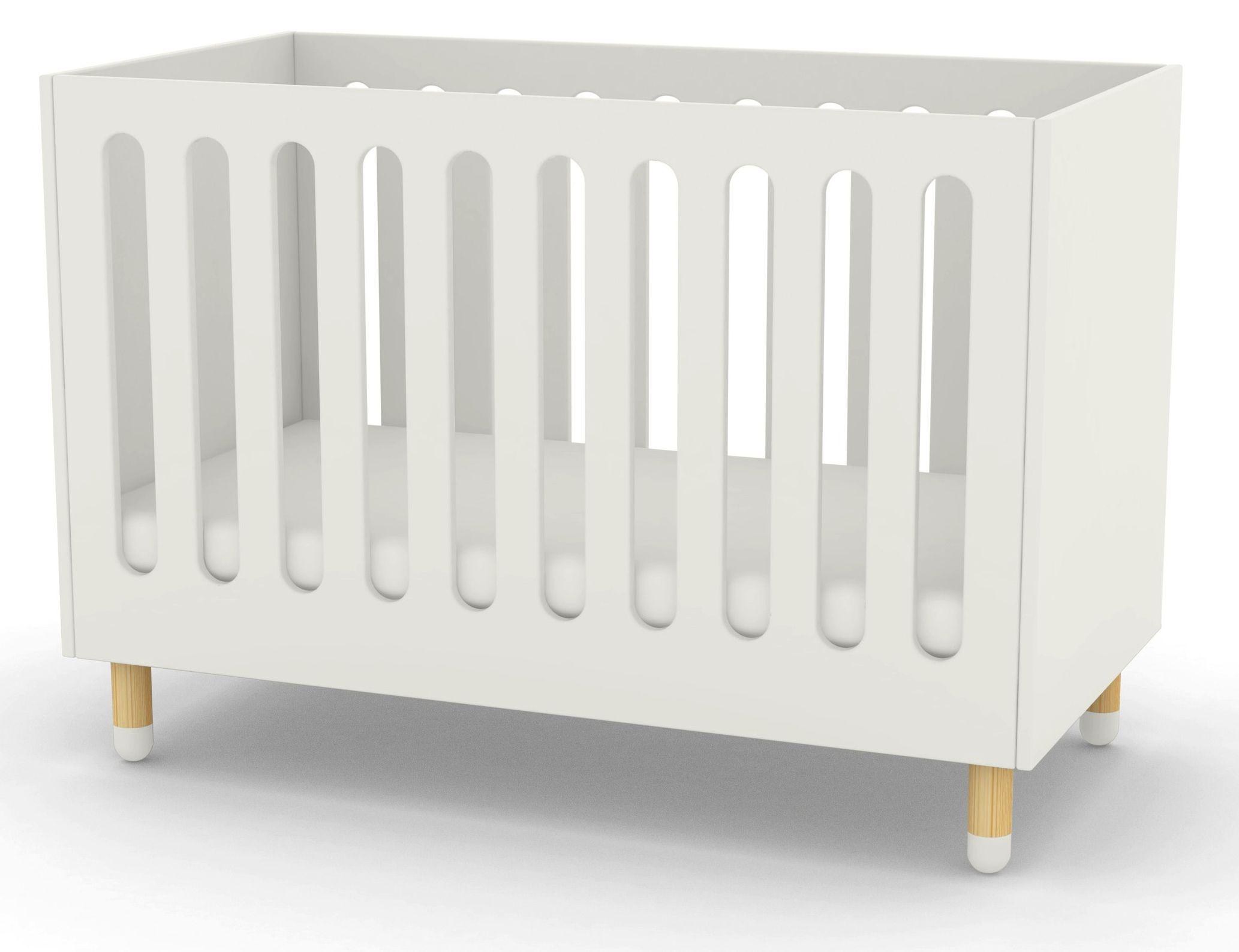 FLEXA Play Babyseng - Hvid - Flexa babyseng i hvid - 60x120