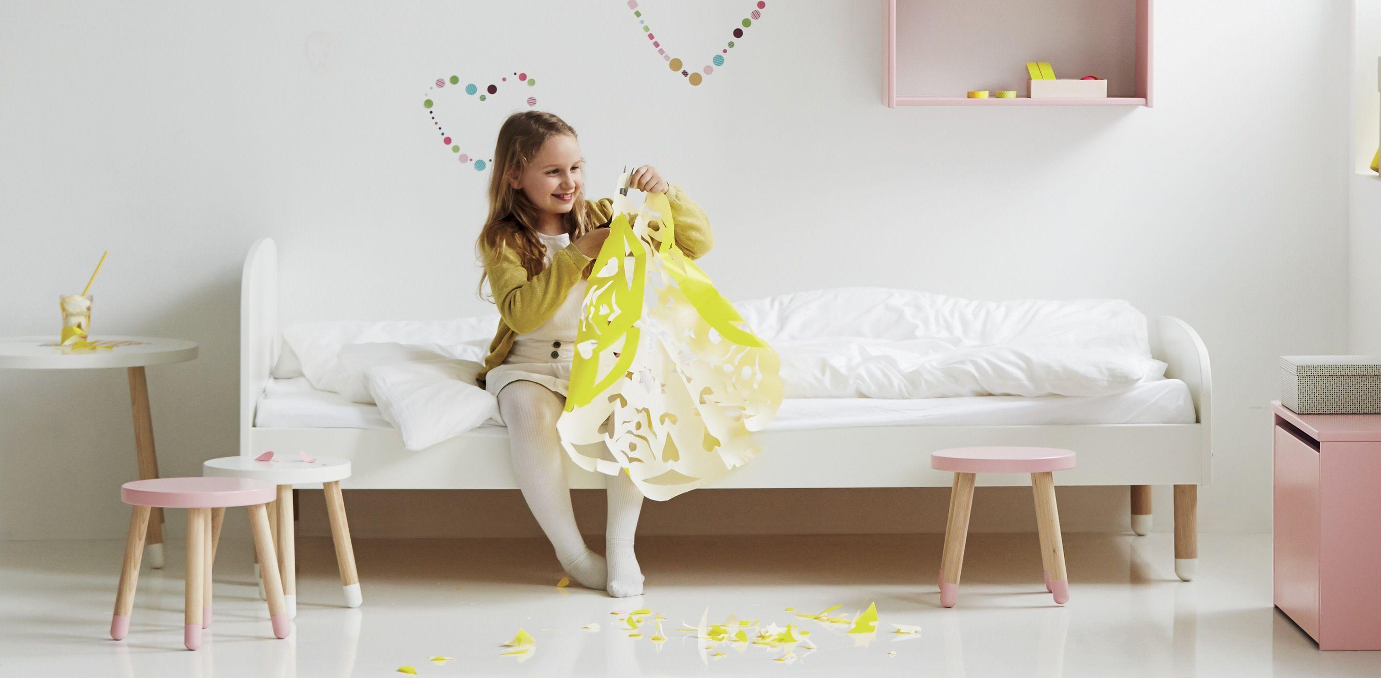 FLEXA Play Børneseng 90x190 - Hvid - Flexa enkeltseng 190 cm