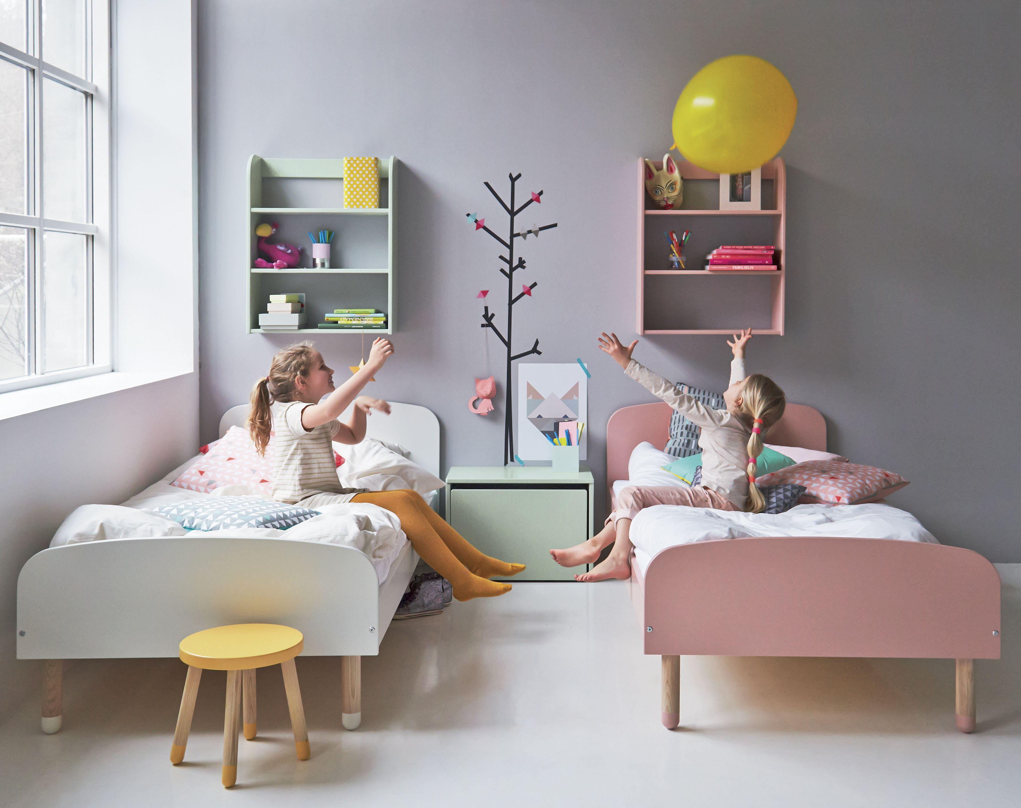 Flexa - Play Børneseng - Hvid - Flexa enkeltseng i hvid - 90x200
