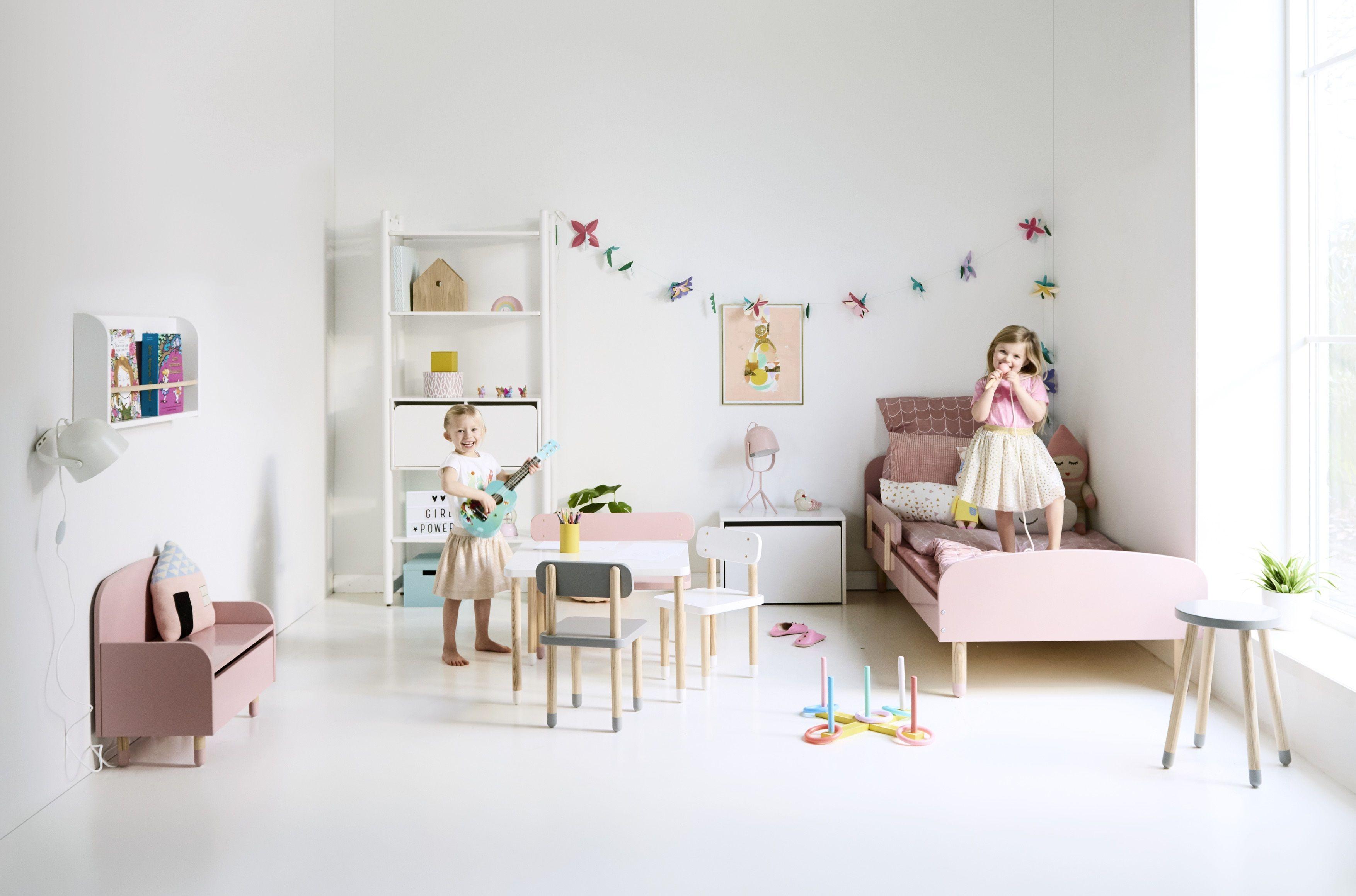 FLEXA Play Børnestol - Hvid