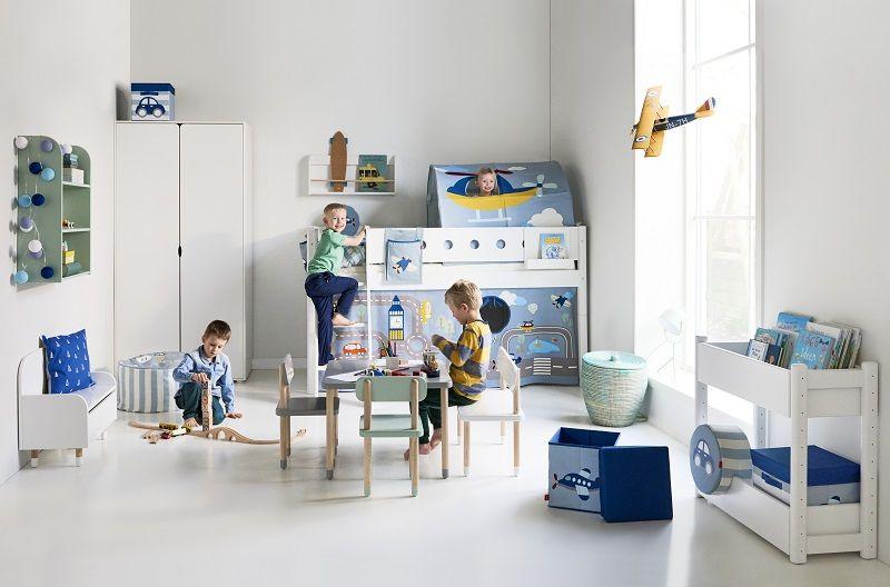 FLEXA Play Børnestol - Urban grå