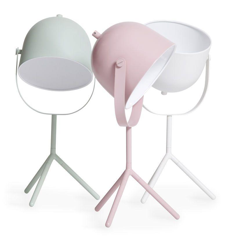Hvid Flexa Monty Bordlampe - Design Charlotte Høncke