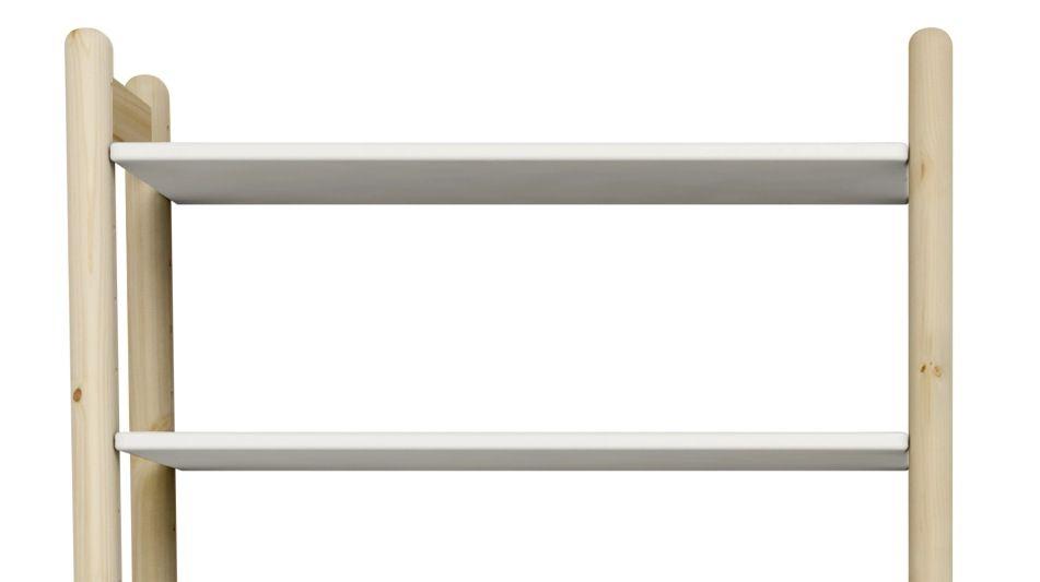 FLEXA Shelfie Hylde - Hvid - 2 ekstra hylder i hvid
