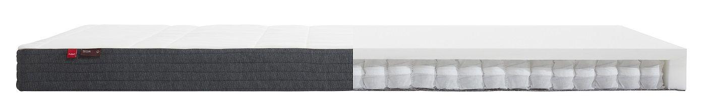 FLEXA Sleep - Springmadras m. bomulds cover - 90x200cm