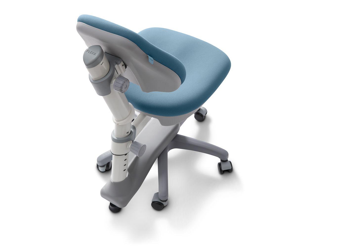 FLEXA Study - NOVO skrivebordsstol - blå