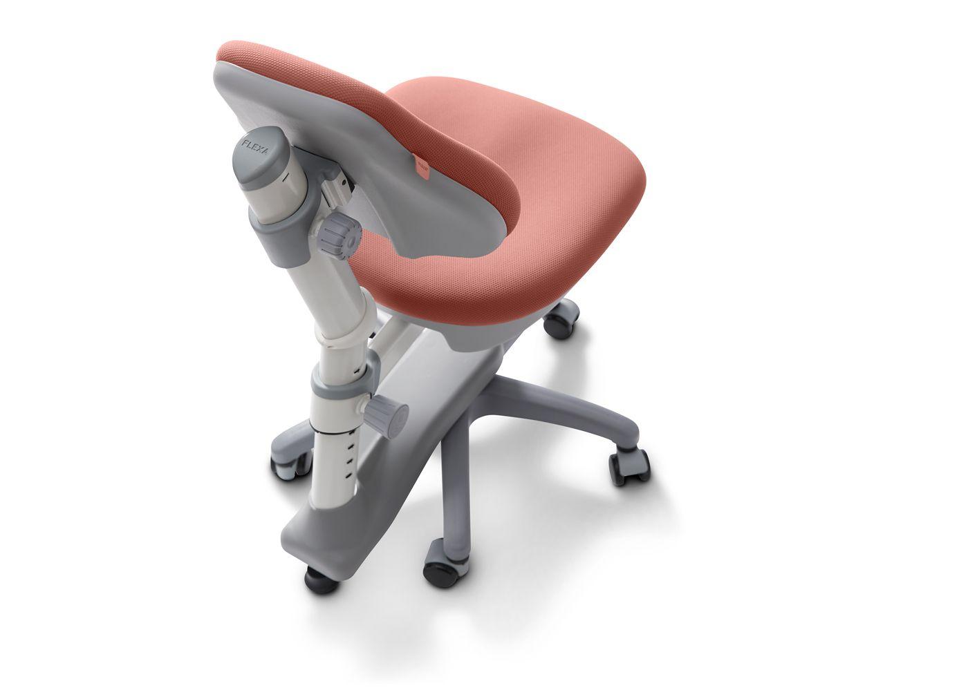 FLEXA Study - NOVO skrivebordsstol - rosa