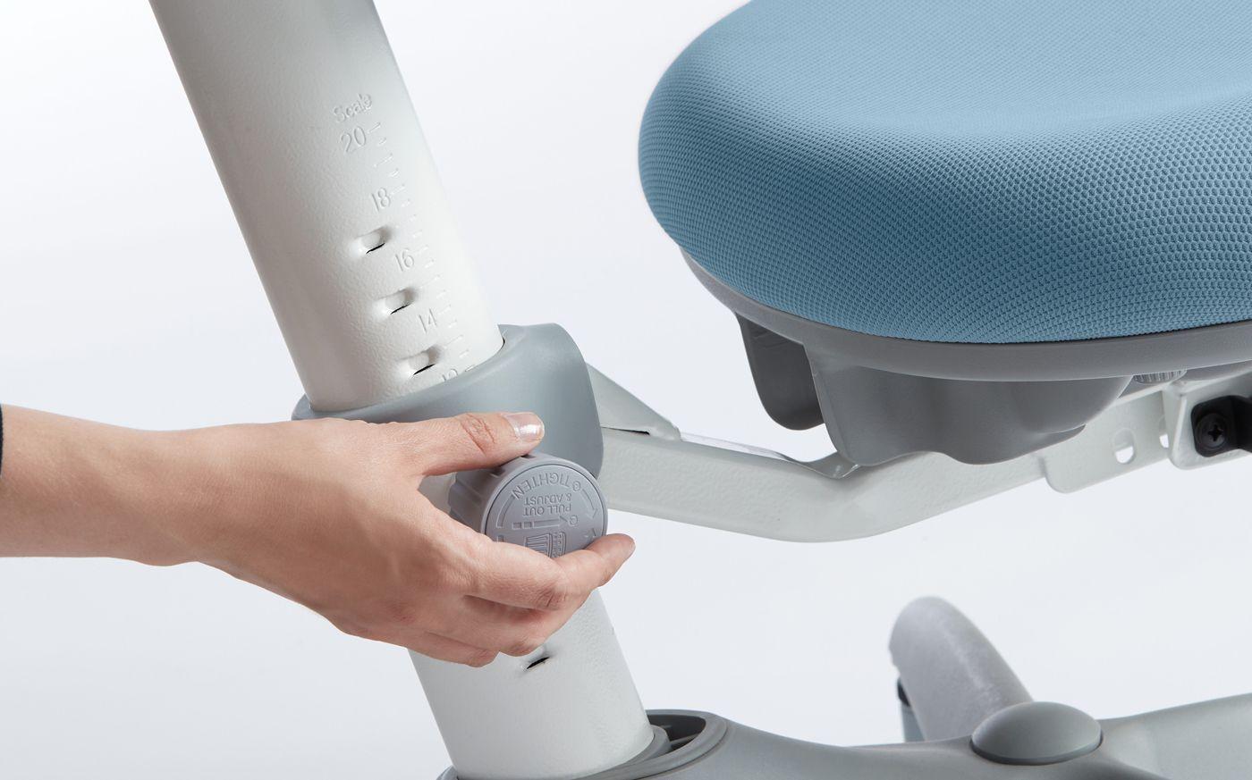 FLEXA Study - VERTO skrivebordsstol - blå