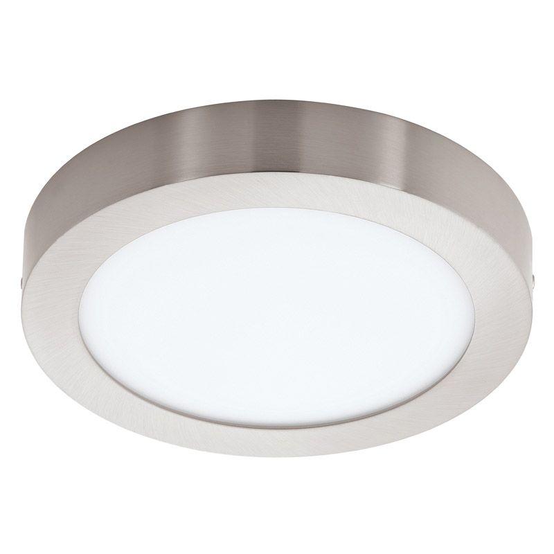 Fueva LED Loftlampe - Børstet stål - Ø22,5 - Gratis fragt
