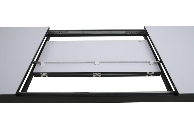 Gera Spisebord - Hvid - Spisebord med butterfly udtræk