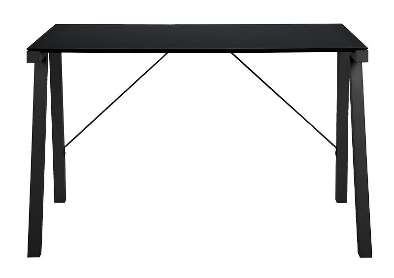 Haima Skrivebord - Sort - Skrivebord i metal
