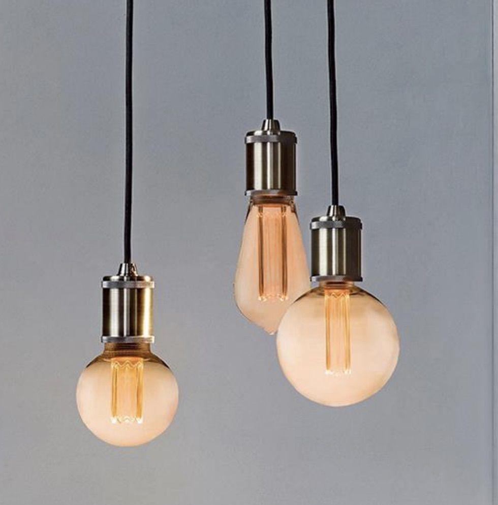 Halo Design Colors Dim LED Mini Globe Amber, Ø8, dæmpbar