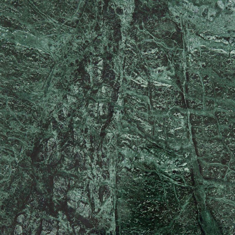 HANDVÄRK - Konsolbord 184x46 - Grøn Marmor, messing - Grønt konsolbord med messing