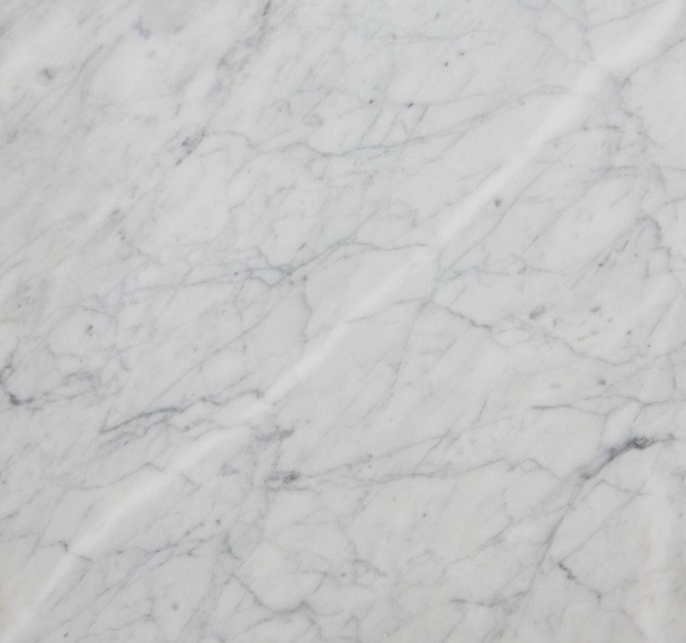 HANDVÄRK - Konsolbord 184x46 - Hvid Marmor, messing - Hvidt konsolbord med messing