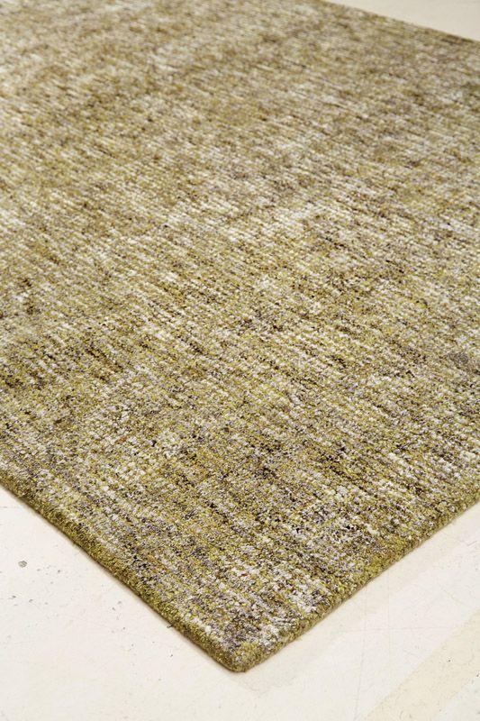 Dundee Håndtuftet tæppe - Grøn - 160x230 - 160x230 cm