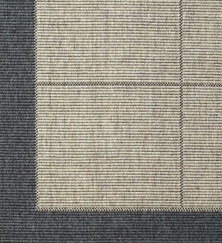New Casablanca Fladvævet Tæppe - Grå, 80x150
