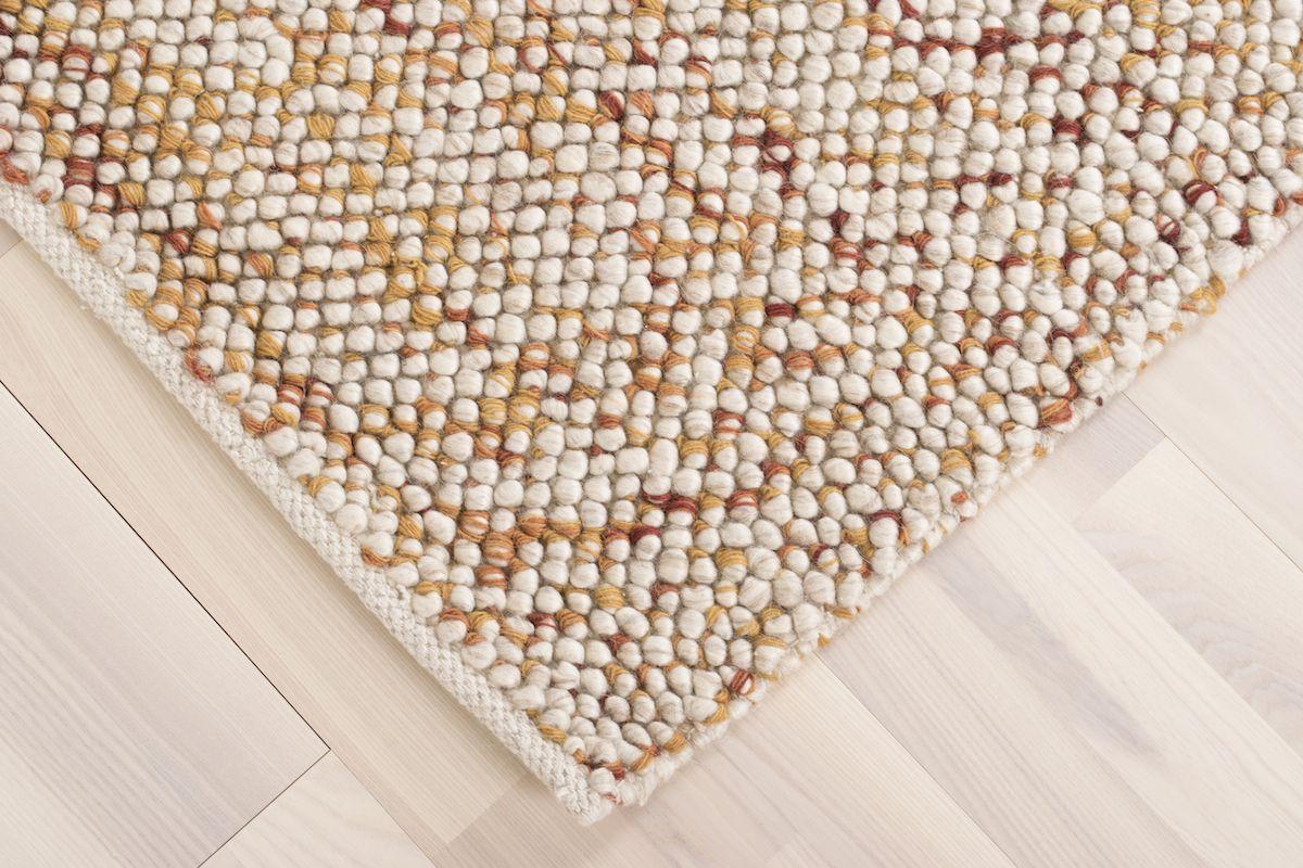 Oxford Håndvævet tæppe - Beige Rust - 160x230