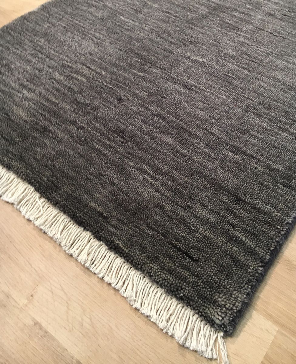 Skagen Håndvævet Tæppe - Grå - 160x230