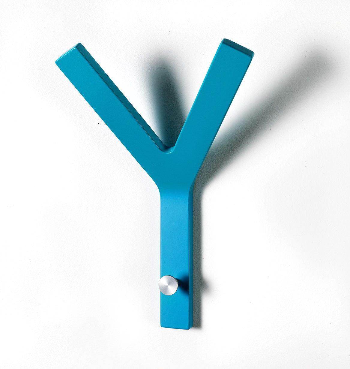 Milano Y-knage - Turkis knage til flere frakker