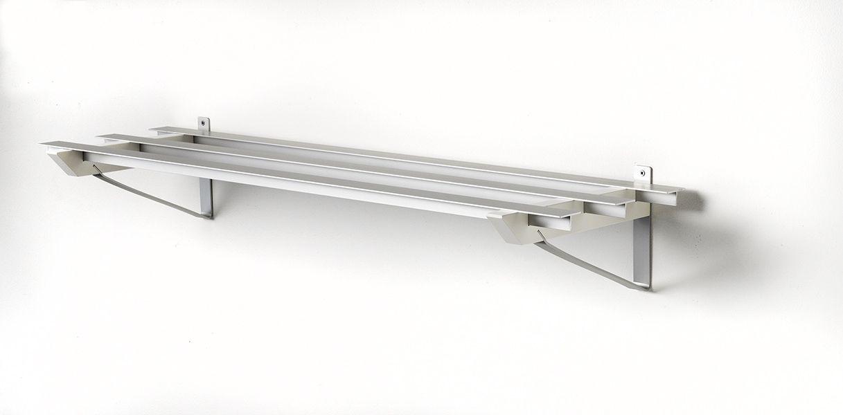 SR-3 Milano Skohylde - Hylde i aluminium og hvid
