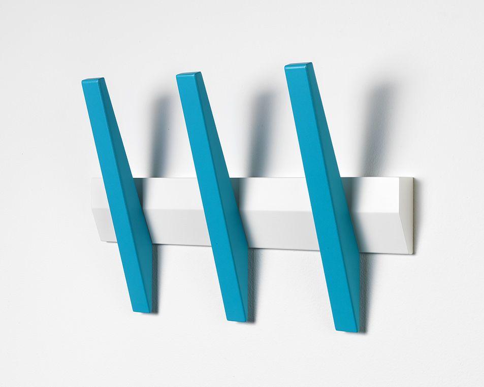Hoigaard - Tangent 3  Knagerække - Hvid
