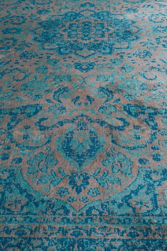 homii Orientalske Tæppe - Blå - 230x160