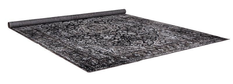 Zuiver Chi Tæppe - Orientalsk sort tæppe 160x230 cm