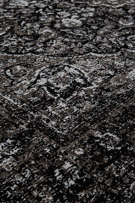 homii Tæppe - Orientalsk sort tæppe 160x230 cm