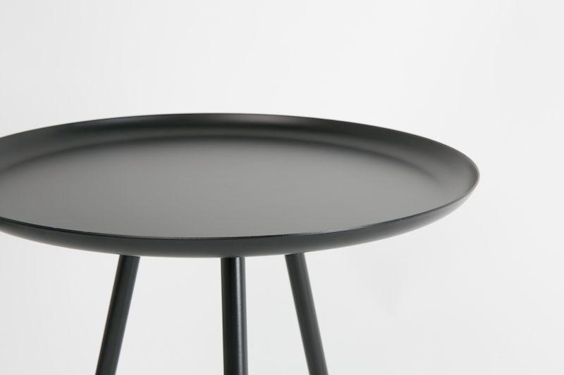 homii Sidebord - Sidebord i sort/mørk grå