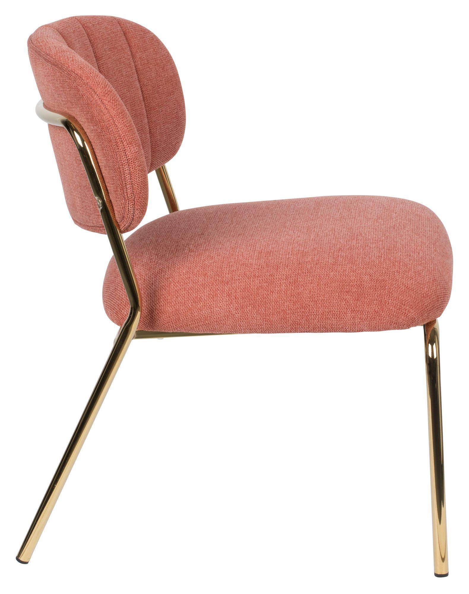 homii Jolien Loungestol - Guld/Pink
