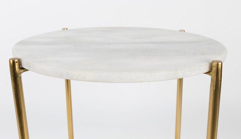 homii Timpa Sidebord - Hvid, Ø44,5