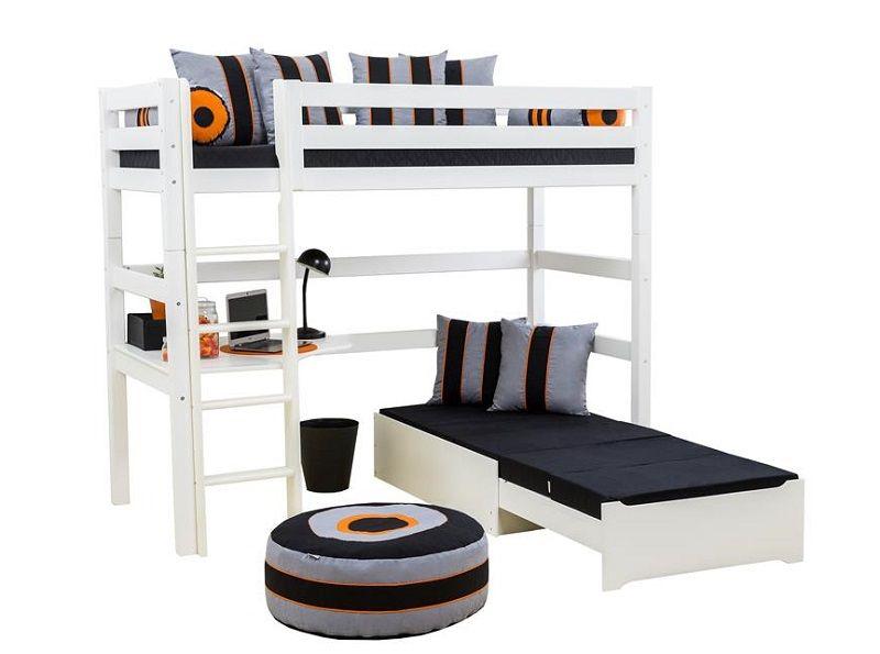 HoppeKids 5-delt madras - Sort - 9x80x200 cm