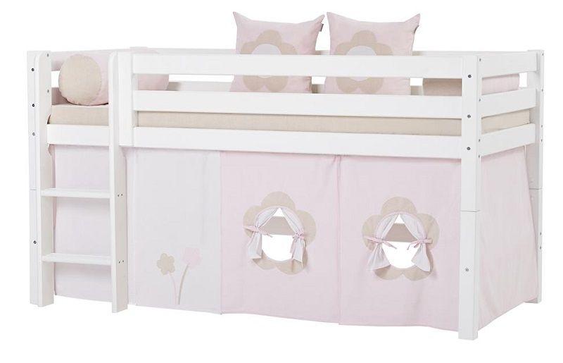 HoppeKids Fairytale Flower Forhæng  - Forhæng til halvhøj seng eller køjeseng