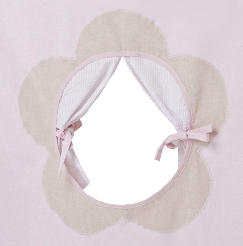 Hoppekids Fairytale Flower Forhæng - Forhæng til mellemhøj seng eller køjeseng